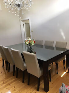 12 Seat Solid Timber Dining Table Seddon Maribyrnong Area Preview