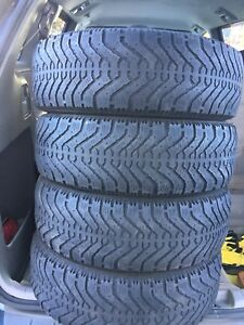 4-195/65R15 Good year winter tires