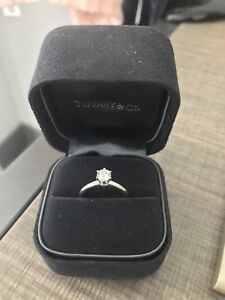 New Tiffany&Co Diamond Ring for sale size 4.25-4.5