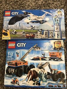 Brand new Lego city sets
