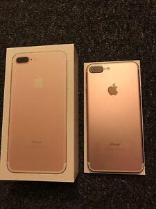 iPhone 7 Plus rose gold factory unlocked