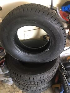 275/70/18 firestone winter force tires
