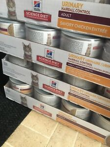 165 cans of hills wet cat food