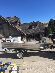 12' Princecraft Fishing Boat and two motors