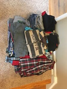 Large lot of Boys Clothes 8/10