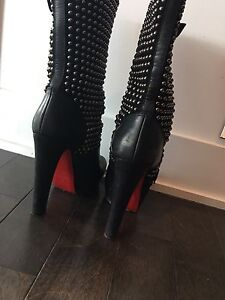 Authentic Louboutin Boots size 40.5