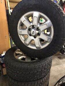 "F150 18"" Wheels and tires"