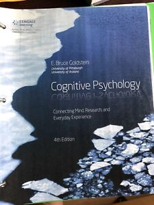 Cognitive psychology textbook
