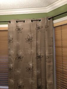 Wayfair curtains 55x63 lined brand new, 6 panels