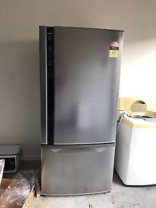 Panasonic Stainless Fridge Freezer Eagleby Logan Area Preview