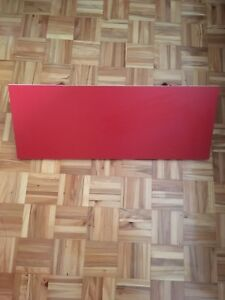 3 Tablettes rouges IKEA