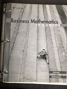 Various Business NSCC textbooks