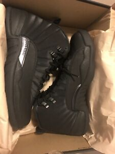 Jordan 12 Black Winterized Size 9