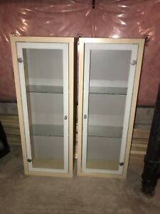 IKEA cabinets light wood