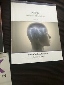 CENTENNIAL COLLEGE FIRST YEAR CYCP GNED, COMM 160/170 TEXTBOOKS