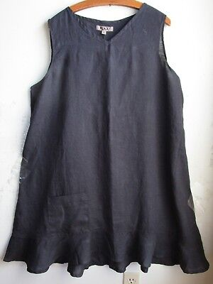 FLAX Designs    Linen  Dress   M & L  NWT  SWEET DREAMS  DRESS (Sweets Dress)