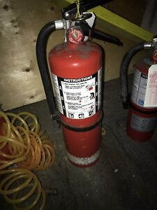 Fire extinguisher and other tools