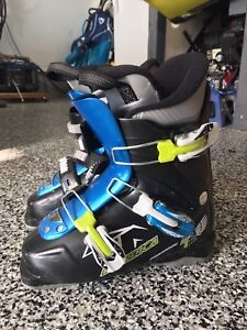 Kids skis (120cm) poles and boots (275mm)
