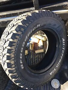 1 BFGoodrich all terrain 265/70R17
