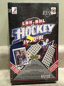 1990-91 Upper Deck High Series Hockey Cards