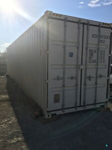 8x40ft HC Double Door Seacan Shipping Container
