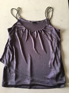 Lilac silk top size 14 Austins Ferry Glenorchy Area Preview