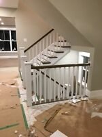 Custom Carpentry/Cabinets/Hardwood Stairs