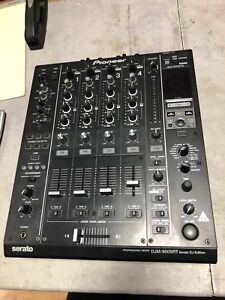 Pioneer djm-900 srt mixer mint condition