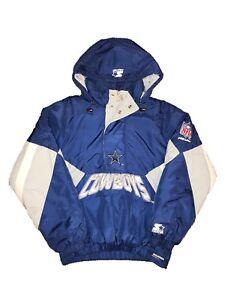Dallas Cowboys Vintage Half Zip Jacket