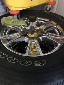Mags / roues 18 pouces ford