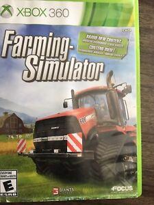 XBOX 360 Game Farming Simulator