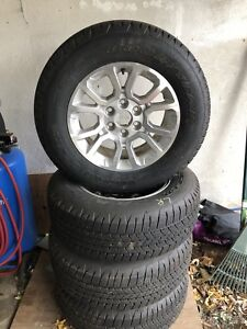 6 bolt Chevy /GMC Rims and tires