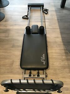 Aero Pilates Reformer with Rebounder and DVDs