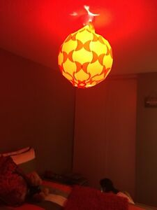 Lamp shade - Red