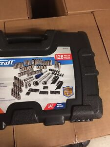128 piece socket and tool set