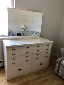 Dresser and Headboard