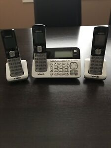 VTech Digital Phone System with 3 Cordless Handsets