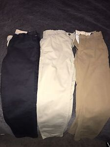 Industrie Chinos (3 pair) tapered size 32 tailored short Clovelly Eastern Suburbs Preview