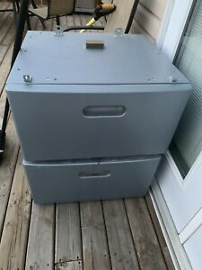 Washer and dryer drawers