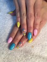 Nail tech taking clients