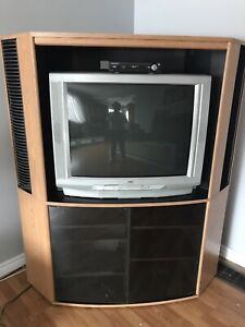 Large corner entertainment center