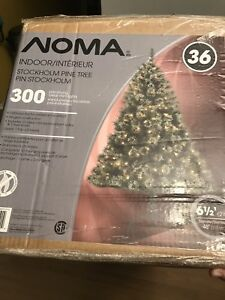 NOMA Artificial 6.5 ft Christmas Tree