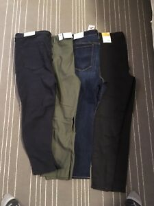 4 pairs of size 20 pants all with tags on