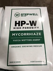 Growing Medium (HP-W) and Super Soil (SS-W)