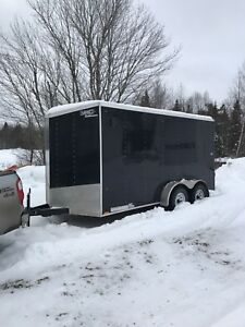 2018 Enclosed Trailer 7'wide X 14' long