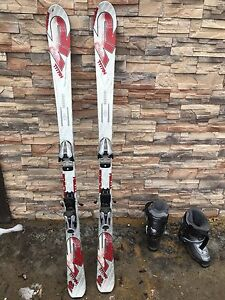 Skis and ski boots for sale