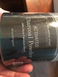 Brand new activated charcoal