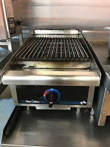 StarMax charcoal natural gas grill 15'