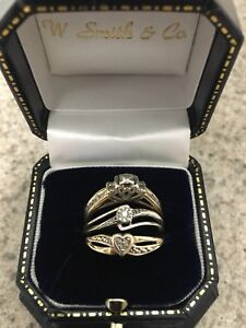 Women's 10k gold rings