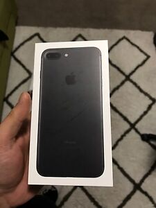 iPhone 7 plus 128 gb matte black Gowanbrae Moreland Area Preview